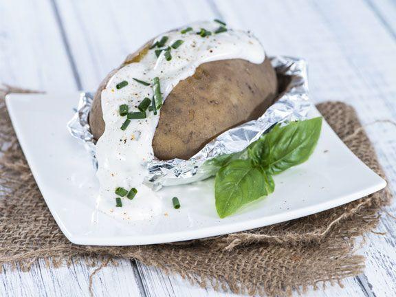 Ernährung für Sportler - Kartoffel mit Quark