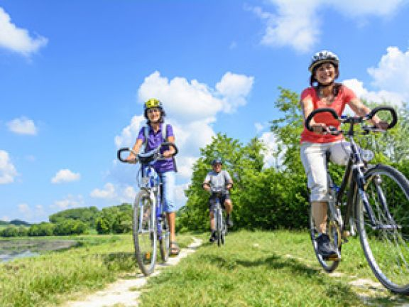 Der Trainingsplan sieht auch Radfahren vor. © ARochau - Fotolia.com