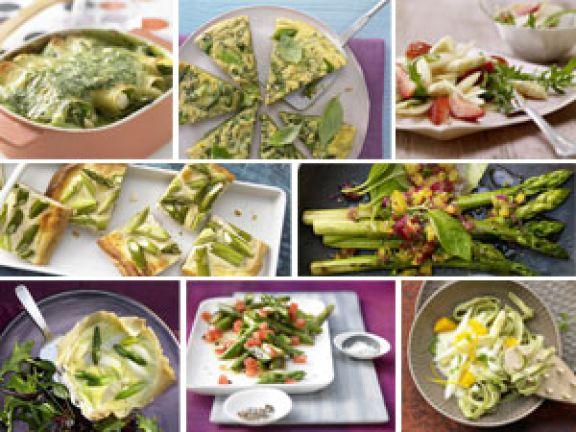 Vegetarische und vegane Spargelrezepte