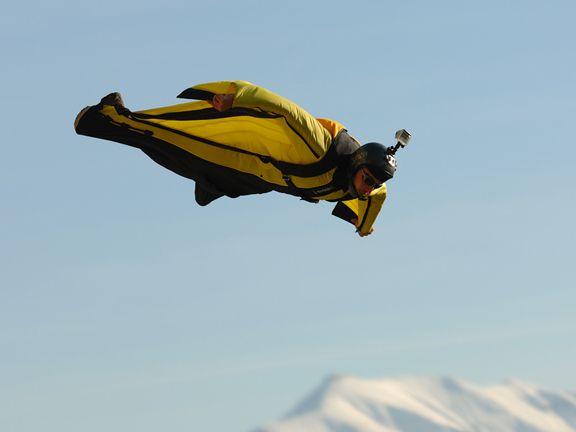 Wingsuit Flieger
