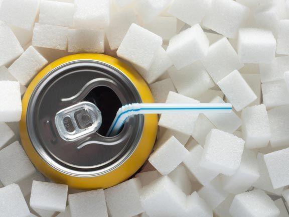 Zucker mit Soda