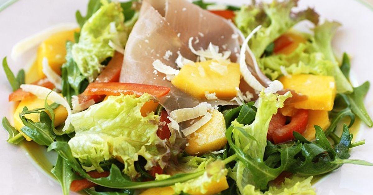 gemischter salat mit schinken rezept eat smarter. Black Bedroom Furniture Sets. Home Design Ideas
