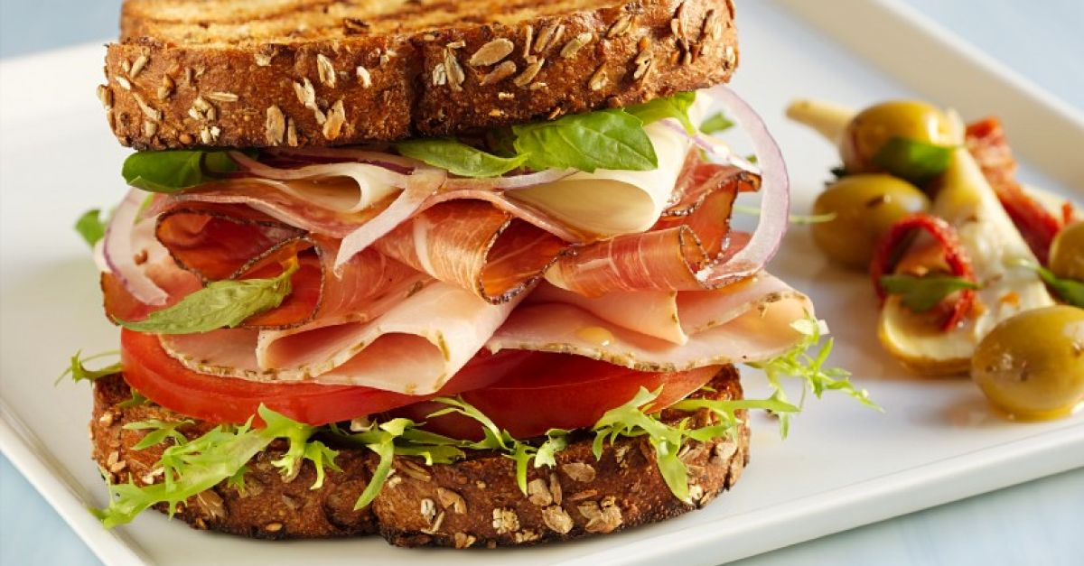 k se schinken sandwich rezept eat smarter. Black Bedroom Furniture Sets. Home Design Ideas