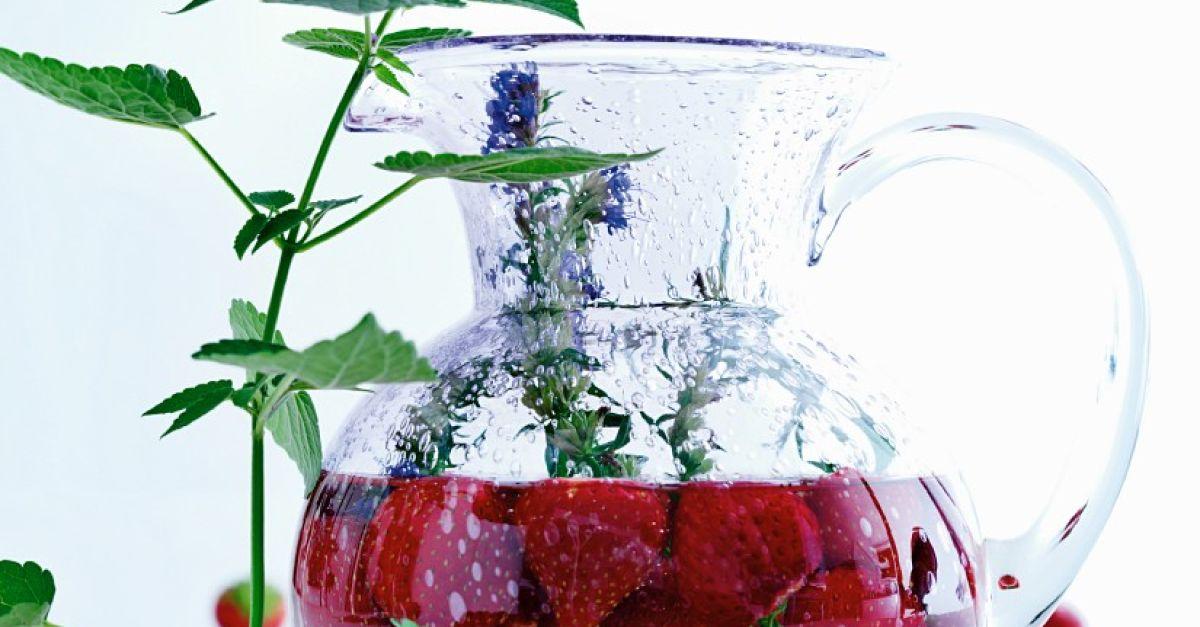 limonade mit erdbeeren rezept eat smarter. Black Bedroom Furniture Sets. Home Design Ideas