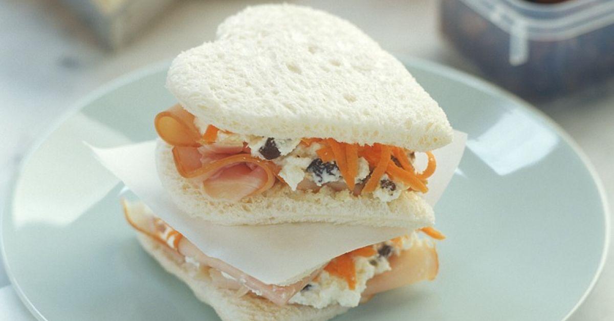 schinken m hren sandwich rezept eat smarter. Black Bedroom Furniture Sets. Home Design Ideas