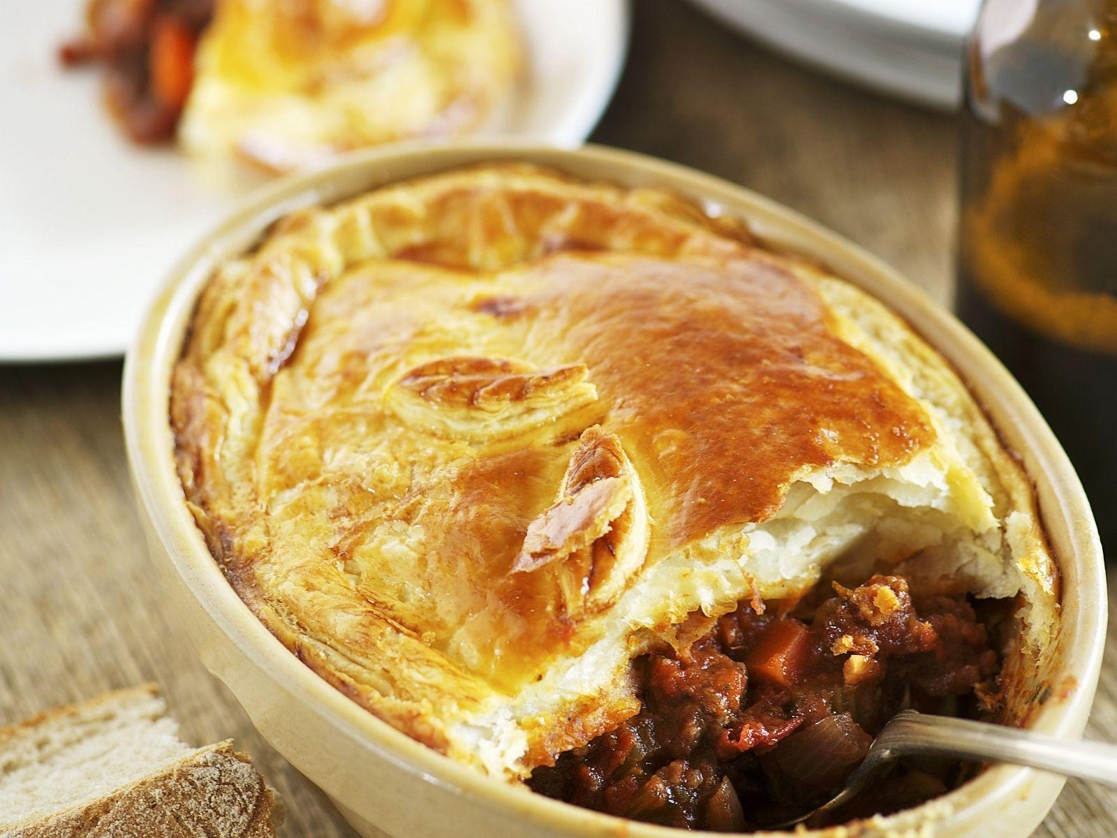irische rindfleischpaste (beef and guiness pie) rezept | eat smarter