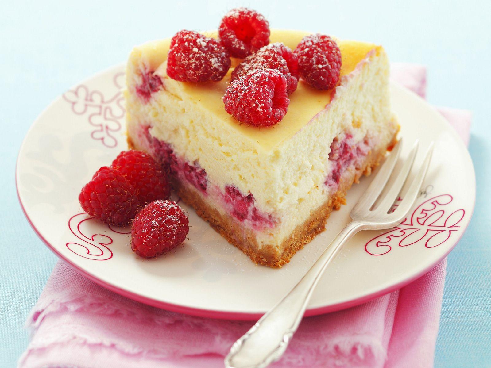 Kuchen quark himbeer