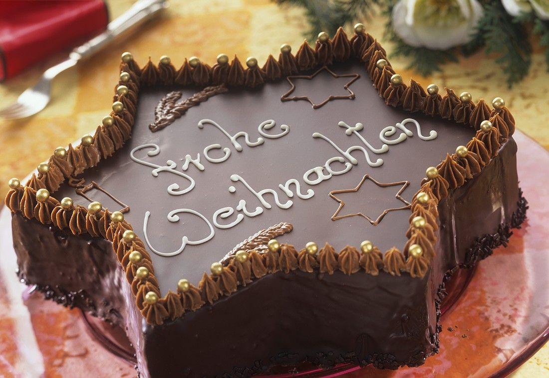 Kuchen als stern