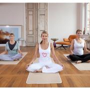 Ursula Karven in der Meditation