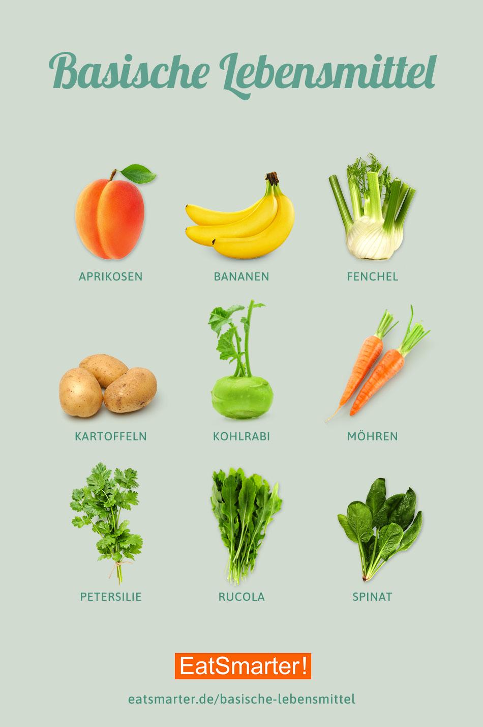 Basische Lebensmittel: Die Top 8  EAT SMARTER