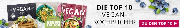 Die Top 10 Vegan-Kochbücher