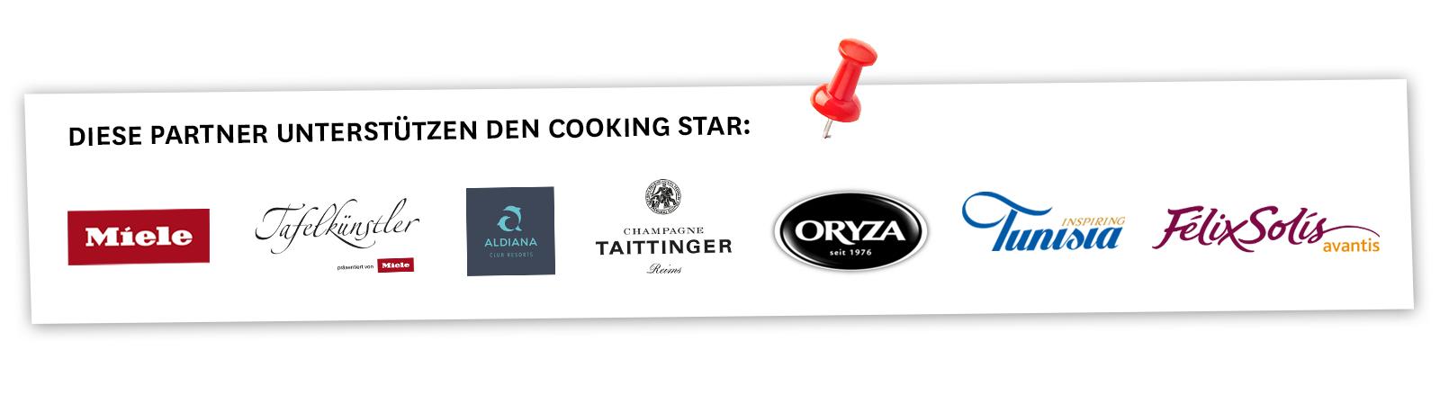 Cooking Star Logos