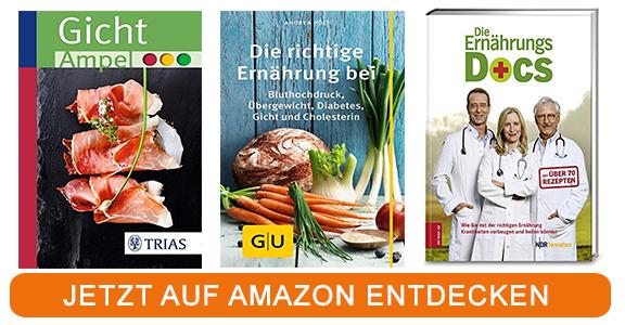 Kochbücher zum Thema Gicht