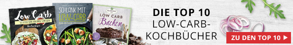 Top 10 Low-Carb-Kochbücher