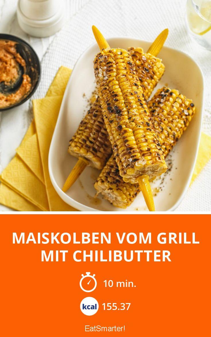 Maiskolben vom Grill mit Chilibutter Rezept | EAT SMARTER