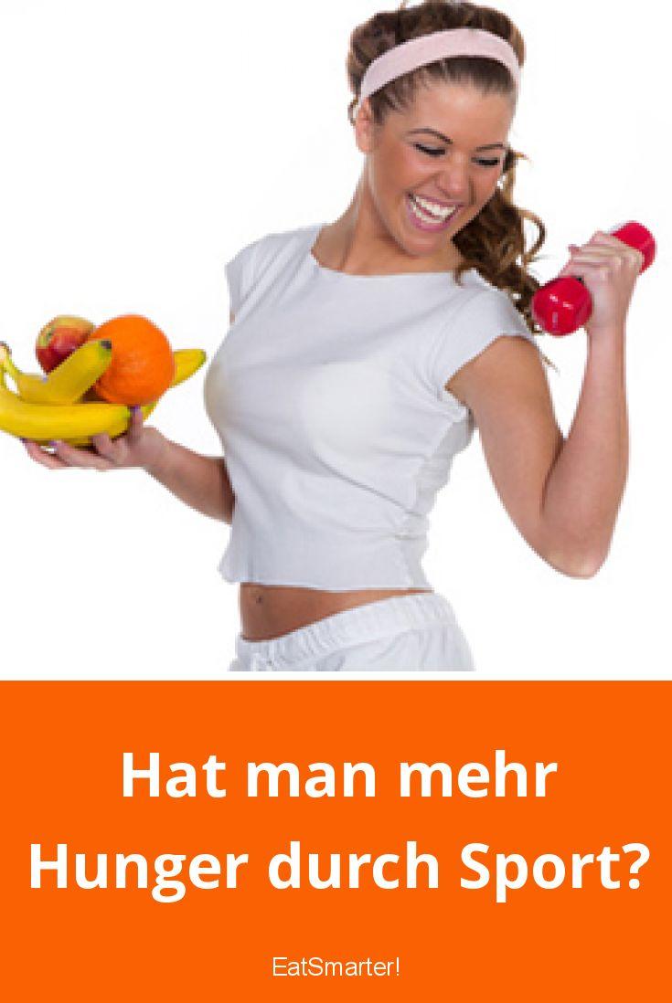 Hat man mehr Hunger durch Sport? | EAT SMARTER