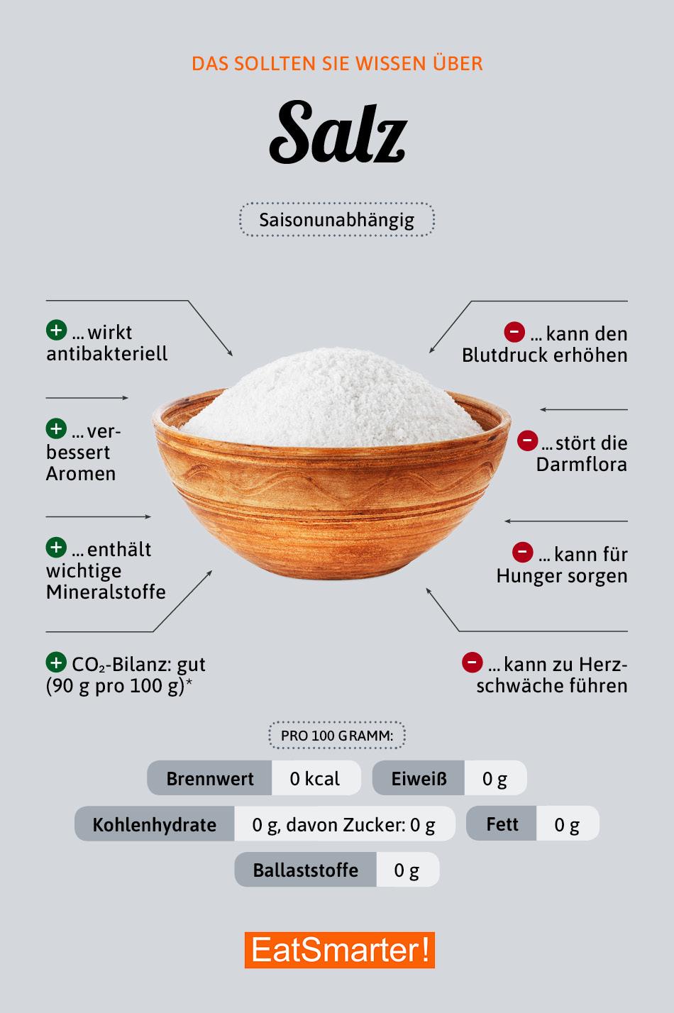 Infografik Salz