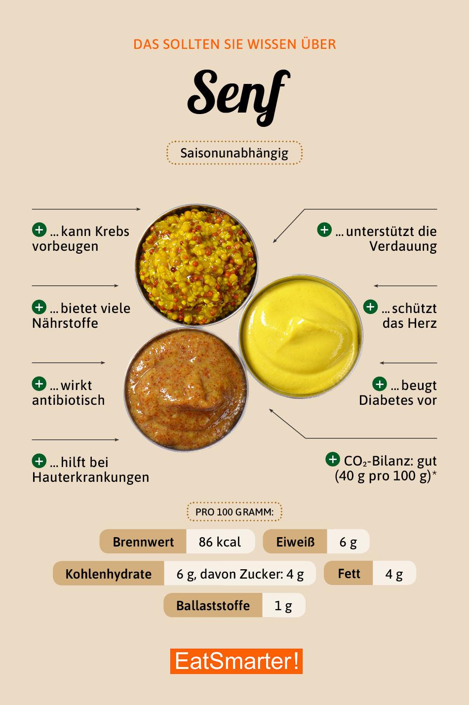Infografik Senf