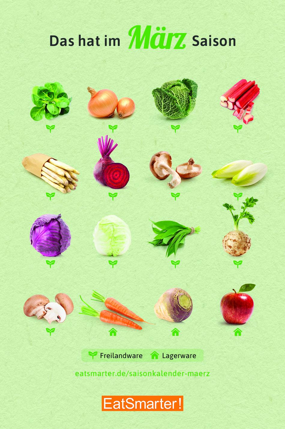 Gemüserezepte für die pronokale Ernährung