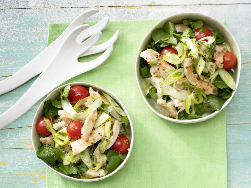 h hnchen spargel salat rezept eat smarter. Black Bedroom Furniture Sets. Home Design Ideas
