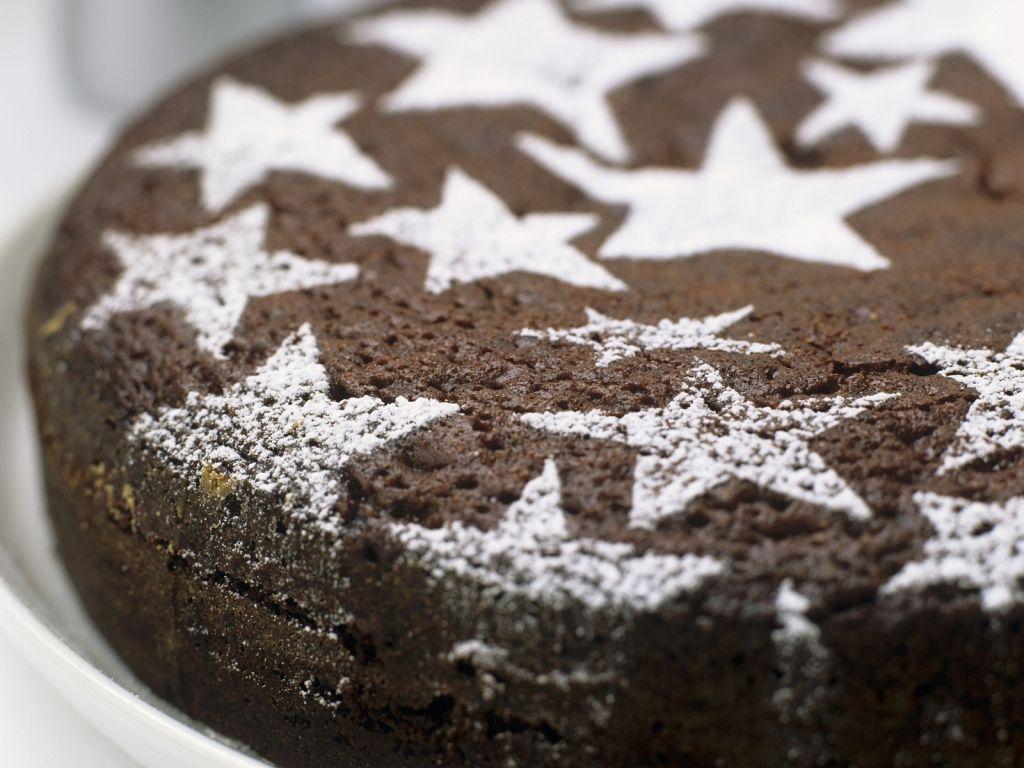 schokoladenkuchen zu weihnachten rezept eat smarter. Black Bedroom Furniture Sets. Home Design Ideas