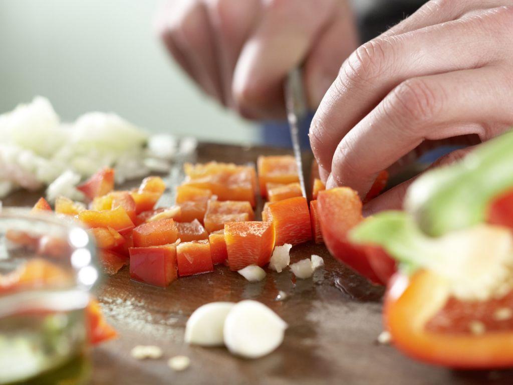 Serbisches Reisfleisch: Zubereitungsschritt 2
