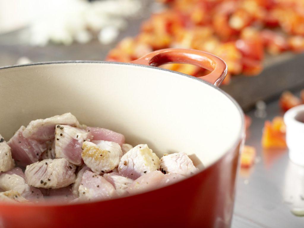 Serbisches Reisfleisch: Zubereitungsschritt 3