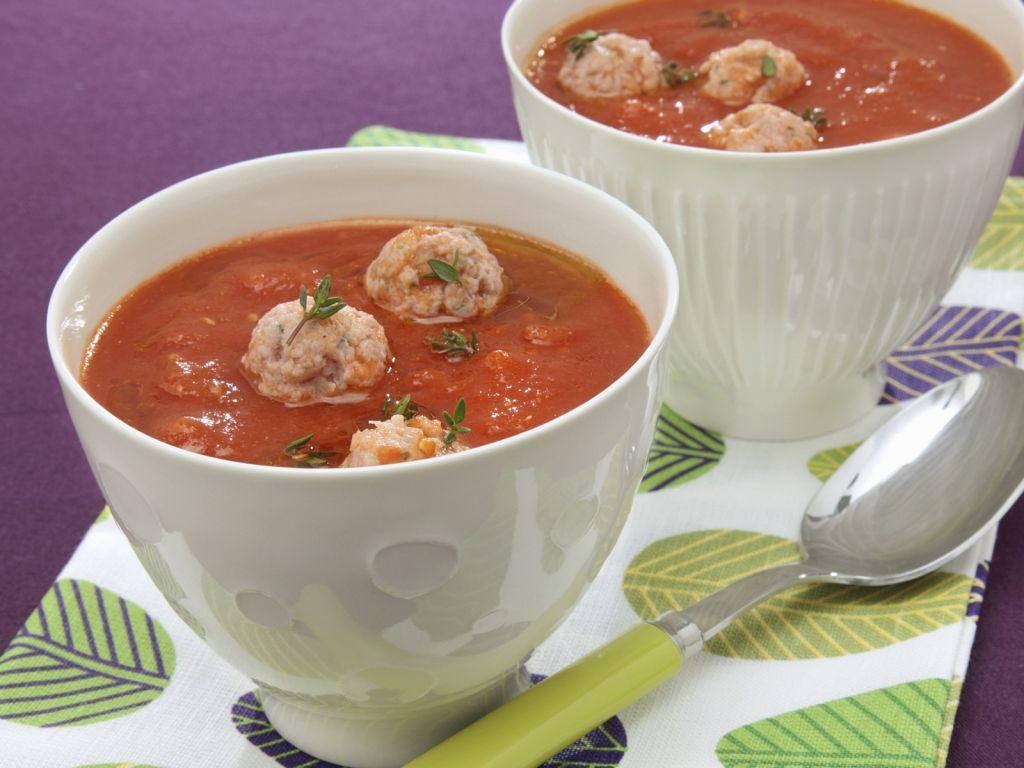 Leichte tomatensuppe rezepte suchen for Einfache sommergerichte