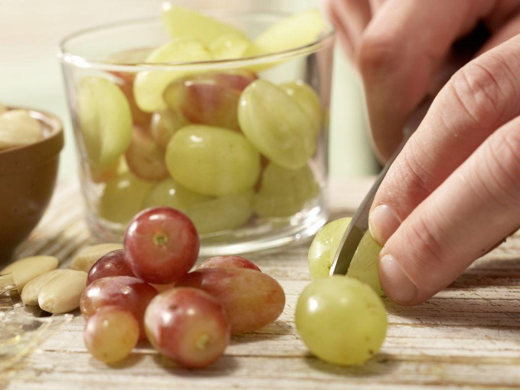 Weintrauben Waschen