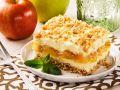 Apfel-Käsekuchen mit Knuspermüsli Rezept