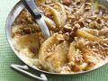 Apfelauflauf mit Haselnüssen und Calvados Rezept