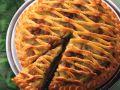Apfelkuchen mit Marzipangitter Rezept