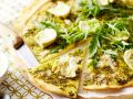 Artischocken-Pizza mit Rucola Rezept