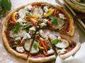 Auberginen-Pizza Rezept
