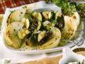 Auberginen-Spieße mit Zucchini und Zwiebeln Rezept