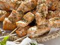 Aufgespießter Lachs mit Fenchelsaat Rezept