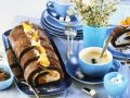 Biskuitroulade mit Mandarinen Rezept