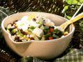 Bohnen-Gemüse-Salat Rezept