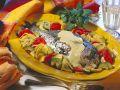 Brasse mit Gemüse und Senfsauce Rezept