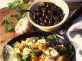 Bratkartoffeln mit Oliven und Feta Rezept