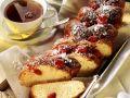 Brioche-Zopf mit Zuckermandeln Rezept