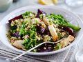Brokkoli-Quinoa-Salat mit Rote Bete und Hähnchenbrust Rezept