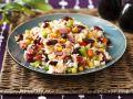 Bunter Reissalat mit Schinken Rezept
