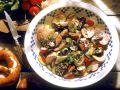 Bunter Salat mit Blutwurst Rezept
