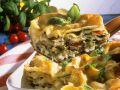 Champignon-Lasagne Rezept