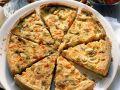 Champignon-Tomaten-Quiche Rezept
