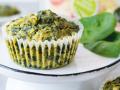 Cheesy Kichererbsen-Spinat Muffins Rezept