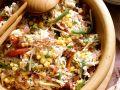 Defiger Reissalat mit Mayonnaise Rezept