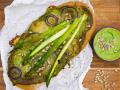 Dinkelpizza mit Pesto Rezept