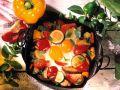 Eier auf Gemüse Rezept
